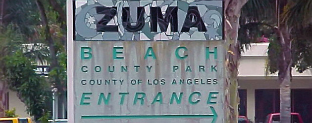 Zuma Beach - like nord for LA.